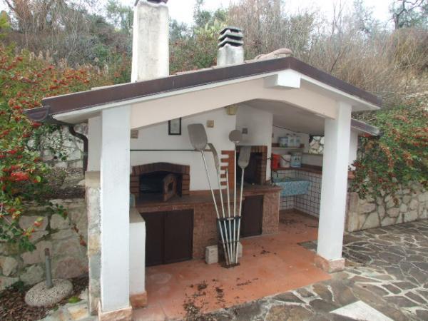 Agenzia immobiliare villa rieti toffia - Angolo barbecue in giardino ...